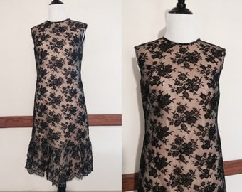 Vintage Lace Drop Waist Dress