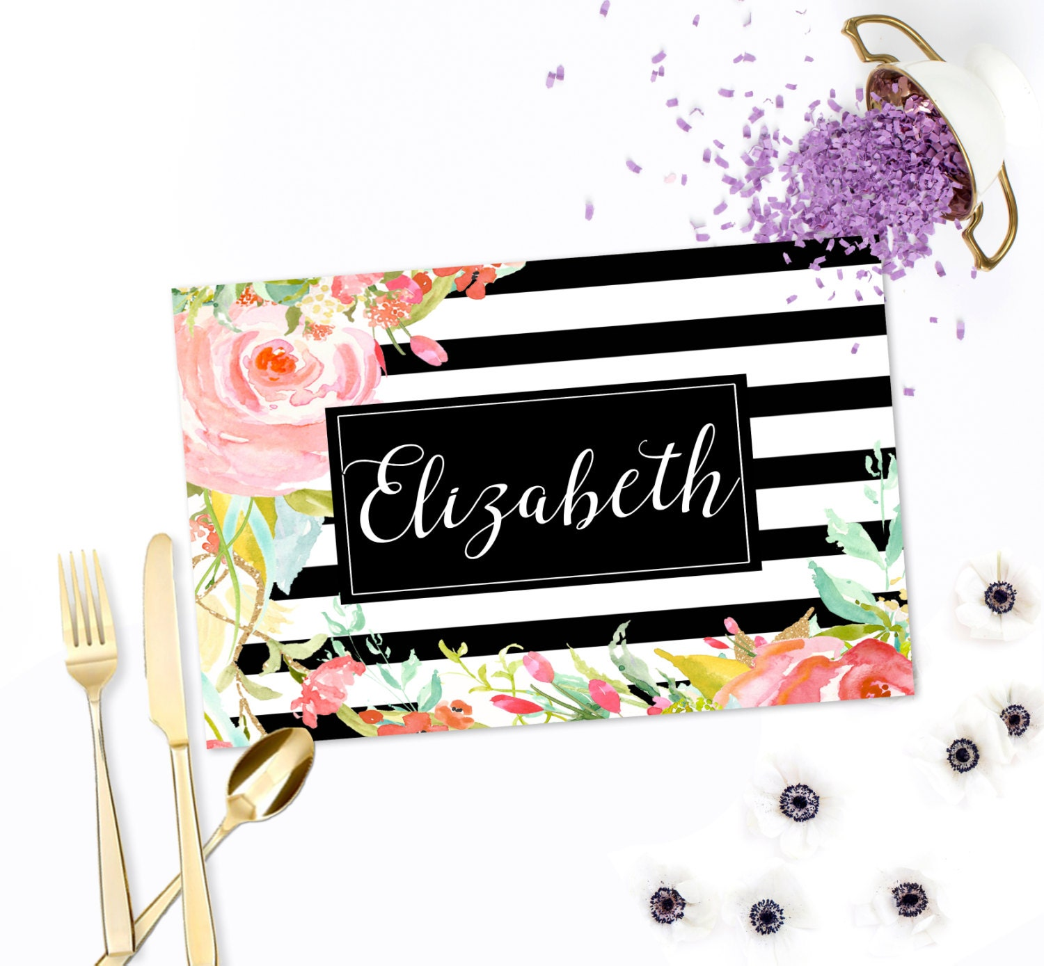 personalized paper placemats Shop for custom placemats on etsy personalized paper placemats - olive garland border, custom placemats, personalized printed placemats, hostess gift.