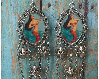 Loteria La Serena Mexican Bingo Earrings