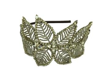 Swarovski diamante Statement side tiara - Jenny Packham Style