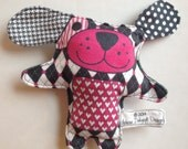 Boutique Squeak Puppy Plushie Toy