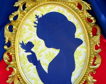 SNOW White Party- Silhouette - COMPLETE - Snow White Birthday- Girl Birthday Party - Snow White  - Snow White Decorations - Princess Party