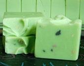 SALE Green Tea Soap / handmade soap / kids soap / homemade soap / lard soap / shea butter soap / olive oil soap