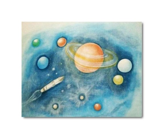 solar system nursery baby room - photo #24