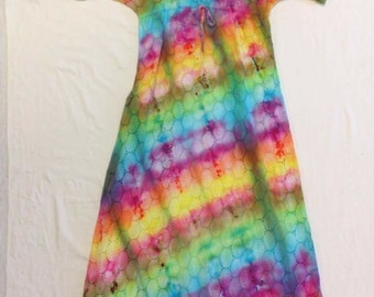 SALE Funky Tie Dye Women's Dress size Extra Small W067