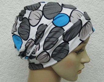 Bad hair day head wear, surgical cap, women's beanie, summer beanie, chemo beanie, chemo head wear, chemo bonnet, viscose jersey