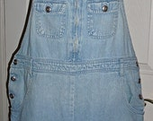 Free shipping! Vintage Ty womens overalls shorts Large