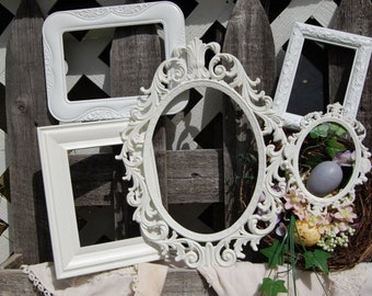 Picture Frame Set / Shabby Chic Frames / Picture Frame / Set Of  Ornate Picture Frames