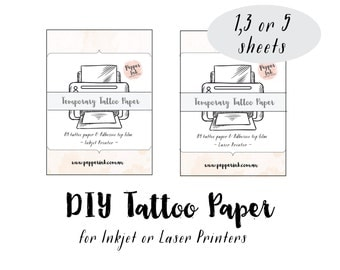 Custom Temporary Tattoos Paper -Temporary Tattoos Paper-Custom Paper Temporary Tattoos -Fake Temporary Tattoo Paper -Paper Temporary Tattoos
