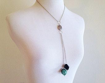 Cerridwen. A Mystical Multi Pendulum Necklace