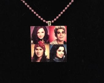 Disney Descendants Necklace on a bead chain