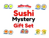 Sushi Earring Mystery Set 6 Pairs