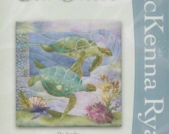 McKenna Ryan Sea Breeze Series, The Nerdles (Block 1) Turtles, Quilting, Ocean theme