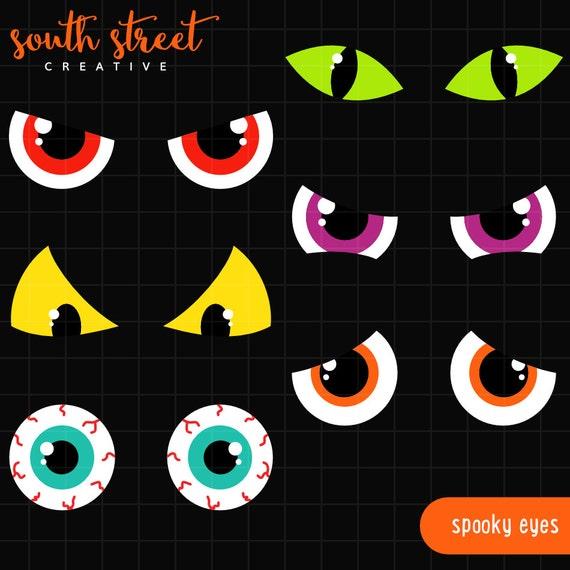 spooky eyes clip art free - photo #8