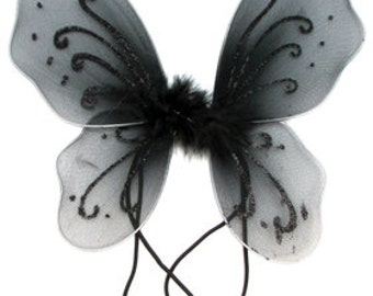 Black Baby Butterfly Wings