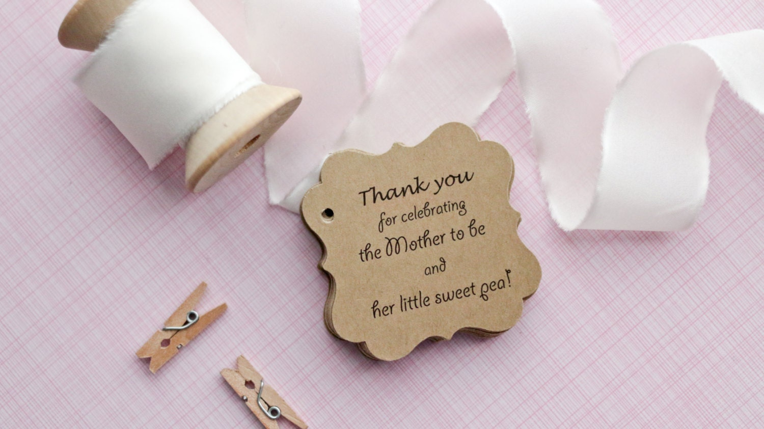 baby shower gift tags baby shower paper goods thank you tags