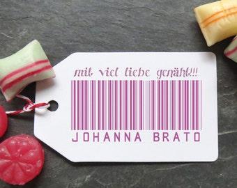 Stamp bar code