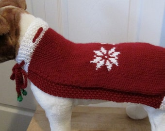 Ready to Ship - Dog Christmas Cape - SMALL