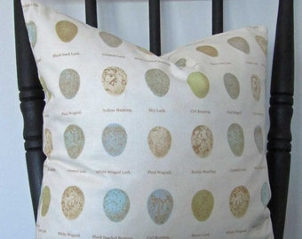 Pillow - motif bird eggs