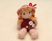 Little Summer Girl, knitting pattern PDF