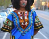 Blue Skies - Unisex Dashiki