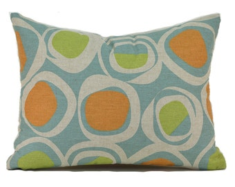 Lumbar Pillow Cover ANY SIZE Decorative Pillow Cover Blue Pillow Premier Prints Chase Ridgeland
