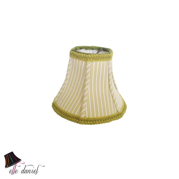 small lamp shade with stripes high quality 100 cotton