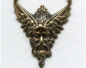 1 Astraeus God of the Four Winds - Oxidized  Brass - Mythical God