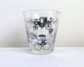 Libbey glass with carriages
