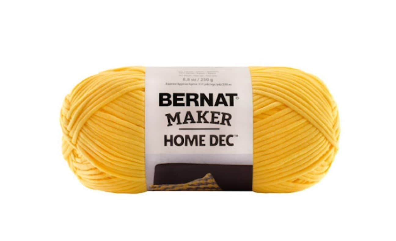 Bernat Maker Home Dec Yarn In Gold