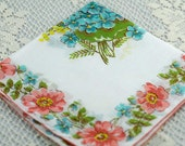 Vintage Hankie for Collectors,  Sewing, Crafting, Great Gift Idea   F-39