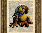 Legend of Zelda Majora's Mask Goron Link Dictionary Art