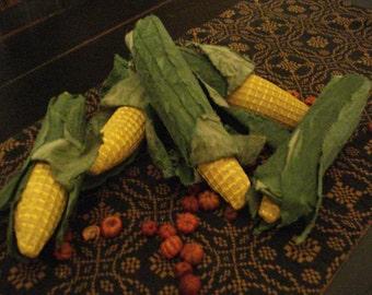 Set of Five Ears of Corn