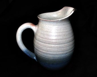 Rowantrees Vintage Art Pottery Bluehill Maine Pitcher Jug
