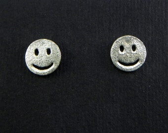 Emoticon Silver 925 earrings SMILE