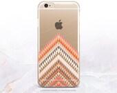 iPhone 7 Chevron Clear Rubber Case iPhone 7 Plus Clear Case iPhone 6 Clear Case iPhone 6S Case iPhone SE Case Samsung S7 Edge Case U61