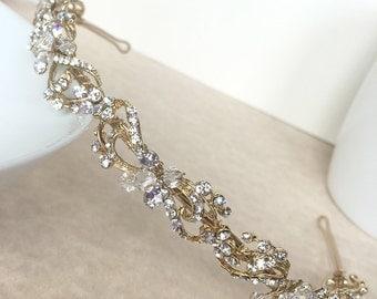 Rosabel Gold Headband
