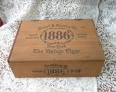 Sam'l Davis 1886 cigar box