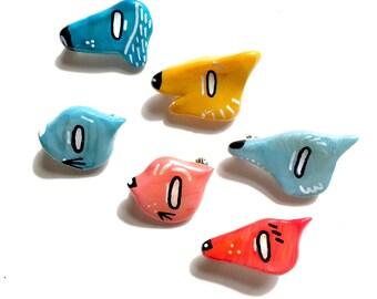 Porcelain Pet Pins