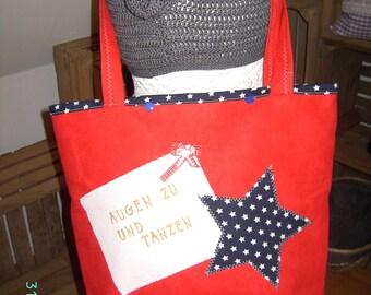 Shopper beach bag
