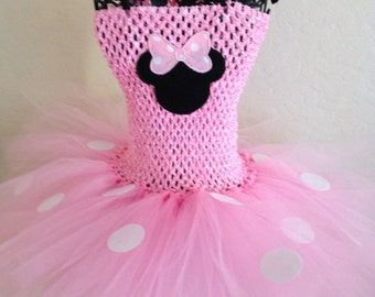 Minnie Mouse Party Dress -- FREE SHIPPING