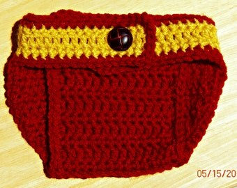 Gryffindor Diaper Cover