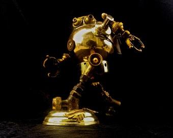 Steampunk Runaway Robot