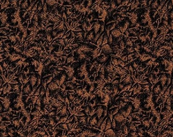 Michael Miller - Fairy Frost Fabric - Copper Color - Black and Metallic Copper Fabric - Shimmer Fabric
