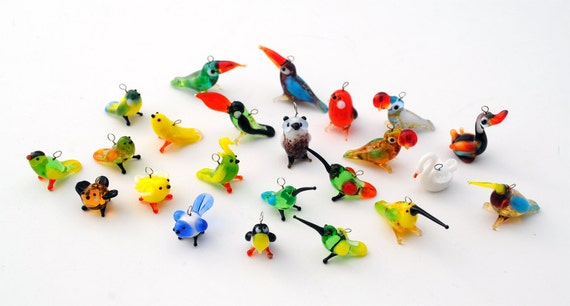 Miniature Animal Earrings