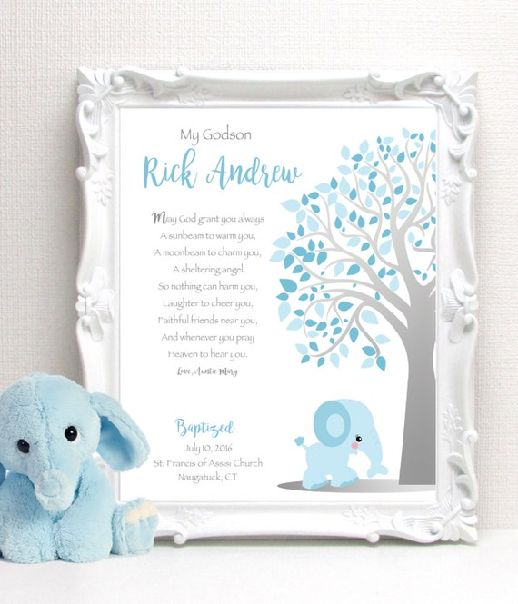 Personalized Baby Gifts Ireland : Baptism gift personalized christening or baby dedication