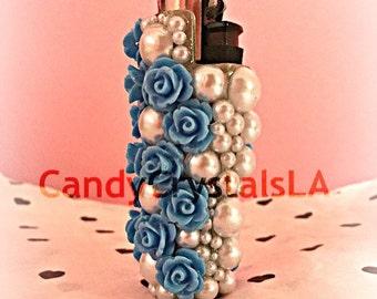 Blue Pearls Lighter