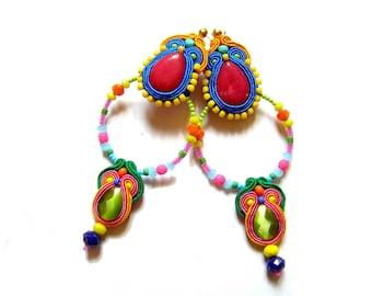 Soutache Earrings - Manuela