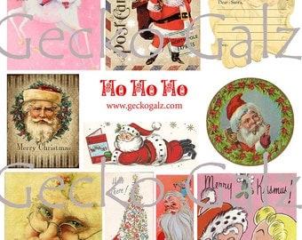 Ho Ho Ho Collage Sheet