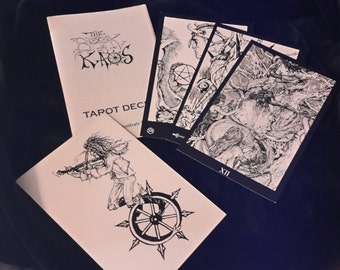 Book of Kaos limited edition Orryelle Defenestrate-Bascule Tarot Deck RARE!
